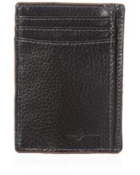 Buxton - Floater Rfid Blocking Front Pocket Money Clip Slim Wallet - Lyst