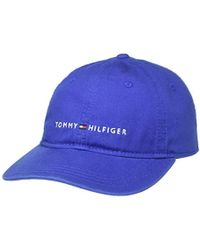 7cc60de53 Tommy Hilfiger Womens Mascot Race Cap Navy Blue in Blue for Men - Lyst