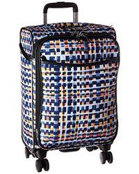 Vera Bradley - Iconic Small Spinner Suitcase, Microfiber - Lyst
