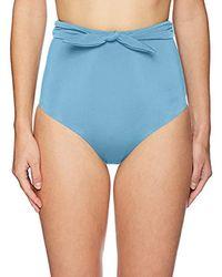 c254454d98 Mara Hoffman - Jay High Waisted Bikini Bottom Swimsuit - Lyst