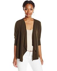 Jones New York - Open-front Cardigan Sweater - Lyst
