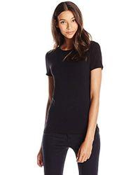 Lark & Ro - Super Soft Short Sleeve Crewneck T-shirt - Lyst