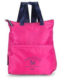 Nautica - New Tack Packable Nylon Backpack - Lyst