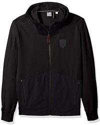 c8726fc3d57b Lyst - PUMA Ferrari Down Jacket in Black for Men