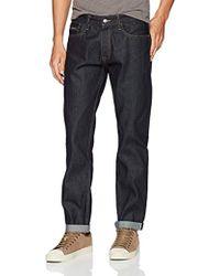 Calvin Klein Straight Jeans - Blue