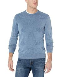 7d41faecdb883b Forever 21 Fox-patterned Crew Neck Sweater in Green for Men - Lyst