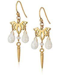Chan Luu - Dangling Stones Drop Earrings - Lyst