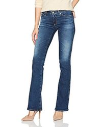 AG Jeans - Angel Low Rise Boot Cut Jean - Lyst