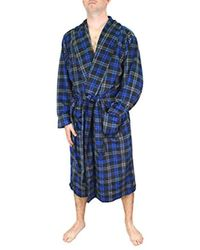 Izod - Micro-poly Sueded Robe - Lyst
