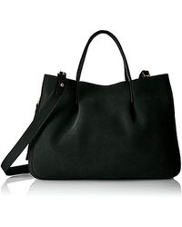 MILLY - Astor Suede Pinched Tote - Lyst