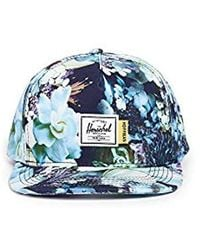 Lyst - Herschel Supply Co. Glendale Hat - Hoffman Collection in Blue ... 33c5d020cb61
