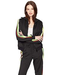 Pam & Gela - Track Jacket With Rainbow Sportstripes - Lyst