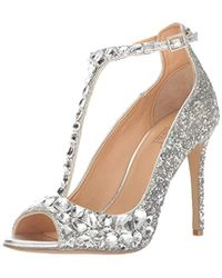 Badgley Mischka - Jewel Conroy Dress Sandal - Lyst