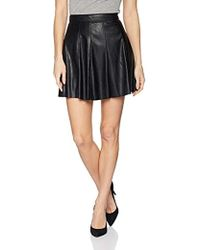 BCBGeneration - Faux Leather Skirt - Lyst