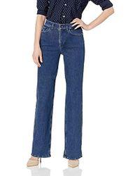 Calvin Klein - Wide Leg Jean - Lyst