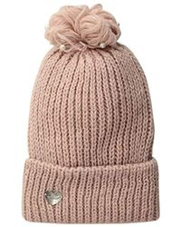 67e74774b2c Lyst - Under Armour Boyfriend Cuff Beanie in Pink