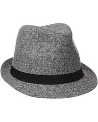 2d4d544322c Reversible Bucket Hat.  35 Sold out. Amazon · Nautica - Marled Fedora Hat -  Lyst