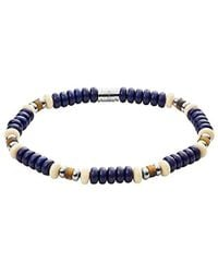 Fossil - S Vintage Casual Stretch Beaded Bracelet - Lyst