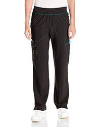 9c4b518827a Rebecca Minkoff Betsy Straight-leg Drawstring Track Pants in Black - Lyst