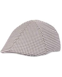 Lyst - Dockers Solid Melton Hat With Fold-down Ear Flaps in Black ... df49b58ac125