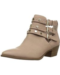 f56869225 Lyst - Circus by Sam Edelman Kensley Extreme Tread Suede Ankle Boot ...