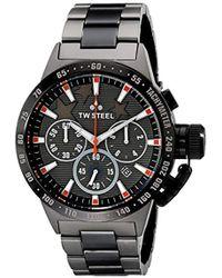 TW Steel - Unisex Tw313 Canteen Bracelet Analog Display Quartz Black Watch - Lyst