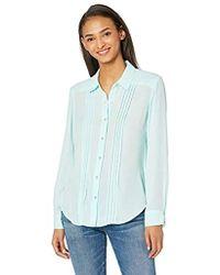 b5e9871f Urban Outfitters Bdg Acidwash Chambray Buttondown Shirt in Green - Lyst