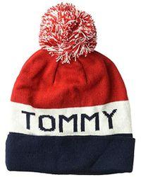 d9540296 Men's Tommy Hilfiger Hats - Lyst