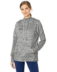 Marc New York - Marled Sweater Knit Long Sleeve Hooded Tunic - Lyst