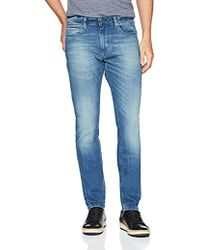 9bbd77978f2 Tommy Hilfiger - Original Steve Slim Athletic Fit Jeans With Skinny Ankle -  Lyst