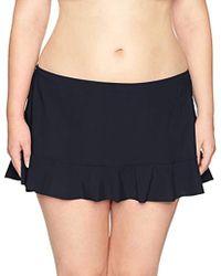 Gottex - Plus Size Solid Ruffle-hem Swim Skirt - Lyst