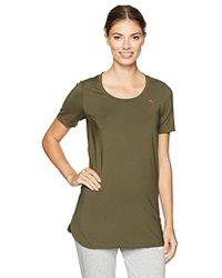 PUMA - Velvet Rope Layering Tunic Top - Lyst