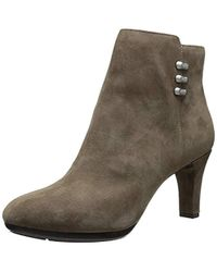 95e3179db067b Lyst - Sam Edelman Sondra Lace-up Leather Ankle Boots in Black