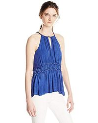 William Rast - Willliam Bentley Sleeveless Knit Top - Lyst