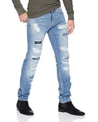 Guess - Slim Tapered Destory - Lyst