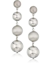 Rebecca Minkoff - Statement Sphere Drop Earrings - Lyst