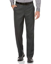 c47bfea9 Tommy Hilfiger Pants, Navy Sharkskin Classic Fit in Blue for Men - Lyst