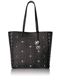 0802b58c8c06 Calvin Klein - Avery Pebble All-over Pyramid Stud Embellished N s Tote -