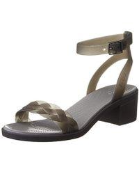 Crocs™ - Isabella Block Heel Wedge Sandal - Lyst