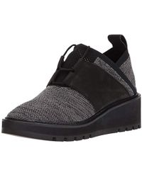 13a815c8a375 Lyst - Eileen Fisher Swish Water-resistant Chelsea Boot in Black