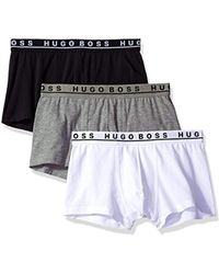 BOSS - 3-pack Stretch Cotton Regular Fit Trunks - Lyst