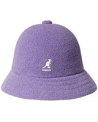 0099788e3ec80 Kangol Bermuda Casual Bucket Hat in White for Men - Lyst