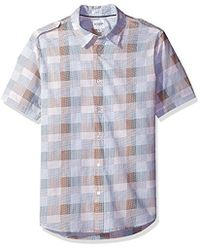 Guess - Jake Voile Dot Check Shirt - Lyst