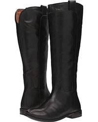 Frye - Paige Tall Riding (redwood Smooth Vintage Leather) Women's Pull-on Boots - Lyst