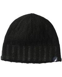 Nautica - Texture Stitch Hat - Lyst