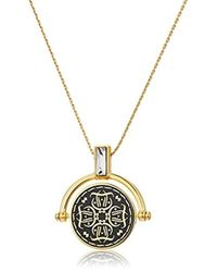 ALEX AND ANI - Wrinkle In Time - Believing Takes Practice Spinner Expandable Necklace - Lyst