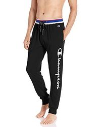 Champion - Jersey Jogger Sleep Pants - Lyst