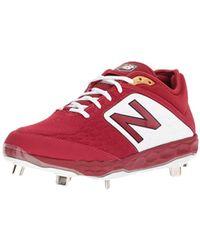c44c4d37ff57 New Balance L3000v3 Metal Baseball Shoe in Red for Men - Save 76% - Lyst