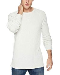 Hudson Jeans - Long Sleeve Waffle Thermal Shirt, - Lyst