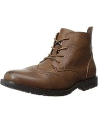 510702cd2cb5 Lyst - Tommy Hilfiger Adolfo Boots in Brown for Men